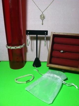 **~ jewelry gift bag set lot #6 plus freebie~** gr8 christmas gift / secret santa / stocking stuffer