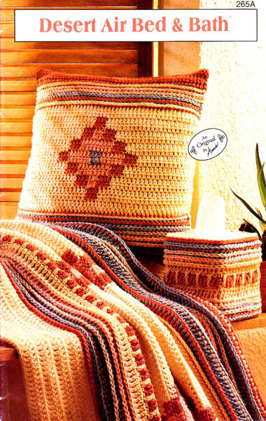 Free Crochet Pattern Book Southwest Style Bed Amp Bath