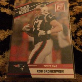 Rated rookie rob gronkowski