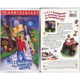 Willy Wonka And The Chocolate Factory Vhs Free: Willy Won...
