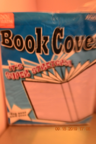 ****NIP PALE PINK BOOK COVER (IT'S SUPER STRETCHY)***FREE SHIPPING