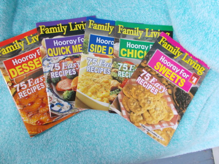 5 Family Living Cookbooks
