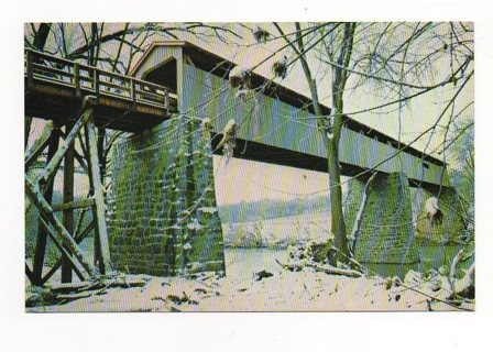Free unsed postcard of port royal covered bridge in winter free unsed postcard of port royal covered bridge in winter clarksville tn sciox Image collections