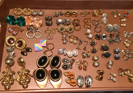 Massive Vintage Earring Lot