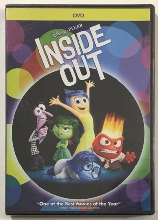 Disney Pixar Inside Out DVD Movie - Brand New Factory Sealed!