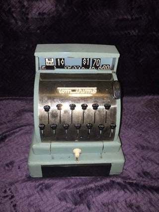 Vintage Tom Thumb Toy Cash Register