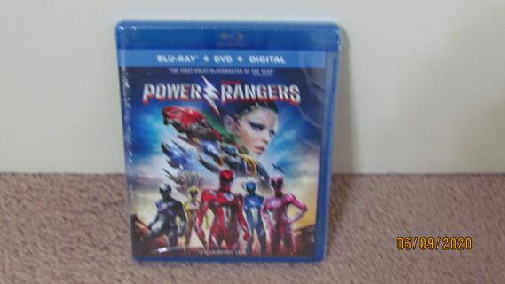 Power Rangers Blu-Ray New in Package