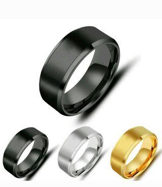 NEW TITANIUM STEEL RING FOR MEN/WOMEN