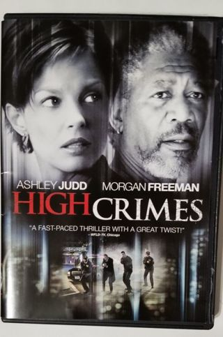 High Crimes (DVD) starring Ashley Judd and Morgan Freeman