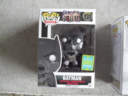 Funko Pop Suicide Squad 131 Batman Summer Exclusive Figure NIB
