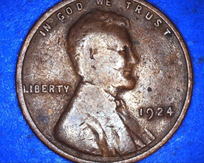1924 lincoln wheat penny
