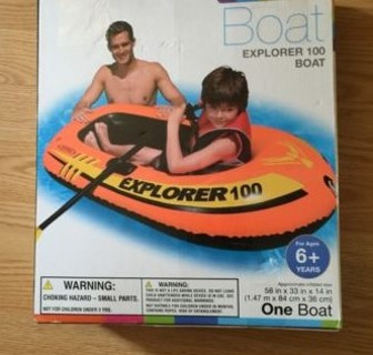 Inflatable 1 Person Raft