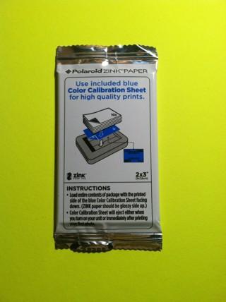 **~ 10 polaroid sticker films zink paper for polaroid snap ~**