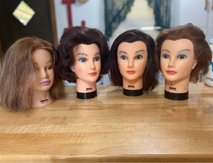 Used Mannequin heads