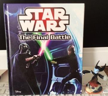 Star Wars book plus sky lander