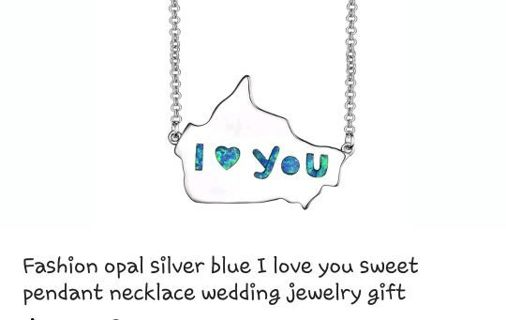 *** I LOVE YOU NECKLACE***