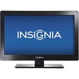 "Insignia Television Flat Screen TV 19"" LED 720p 60Hz HDTV / NS-19E310A13 (for PARTS or REPAIR Only)"