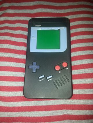 Silicone Case for Apple iPhone 4/4s Game Boy Design
