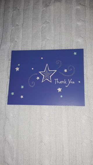 Thank You Notecards - Stars