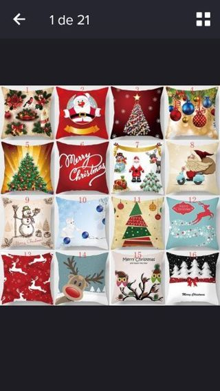 pillow case christmas