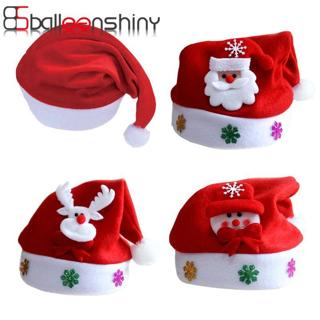 BalleenShiny Hat Baby Christmas Santa Claus Cap Kids Hat Newborn Photography Girls Boy Winter For