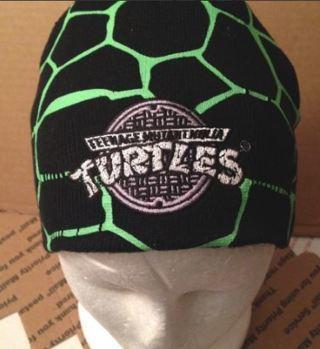NEW Teenage Mutant Ninja Turtles Reversible Hat Beanie Cap FREE SHIPPING