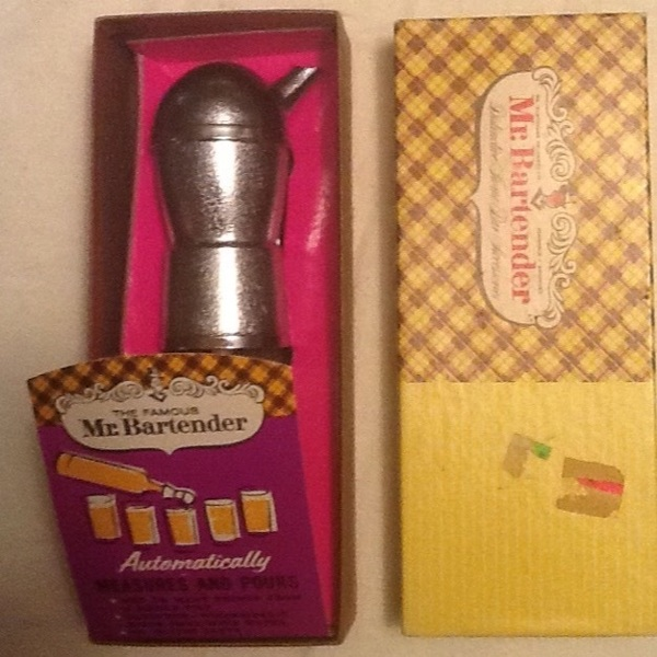 Free: Vintage mr bartender bar accessories new old stock in