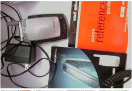 LG VX3100 phone bundle/verizon/page