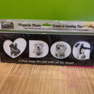 Magnetic Dog Picture Frame