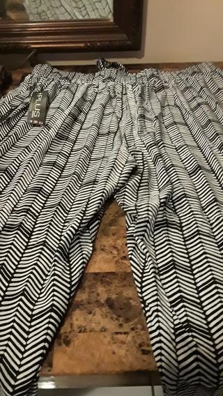 NWT SIZE 2X BEAUTIFUL  PANTS w/side slits