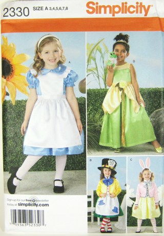 Free: ***Child\'s Alice in Wonderland or Princess Tiana Costume ...