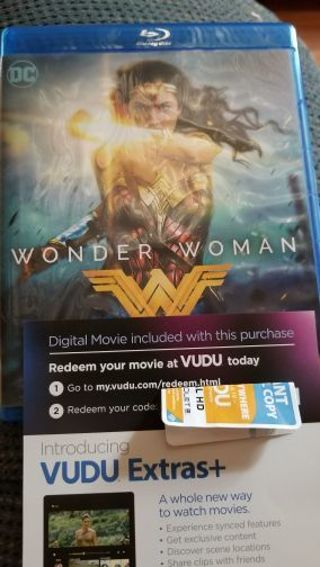 Wonder woman UV code