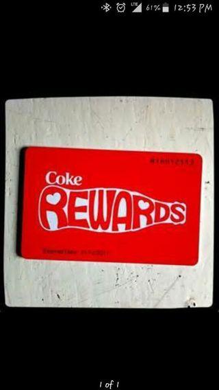 *120* MY COKE REWARD POINTS