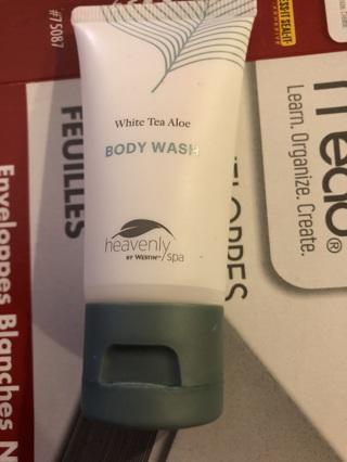 B.New Westin Hotel's Heavenly Spa White Tea Aloe Body Wash 1 Oz Sample