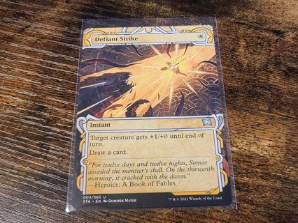 Magic the gathering mtg Defiant strike strixhaven card