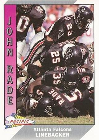 1991 Pacific John Rade Football Card