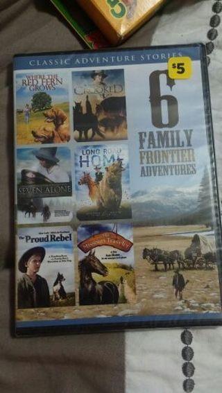 6 movies on 1 dvd