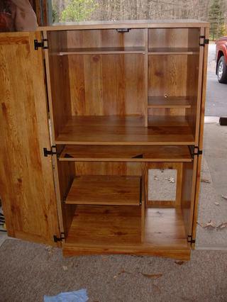 Free: Sauder Computer Armoire/Cabinet/Desk NEPA ...