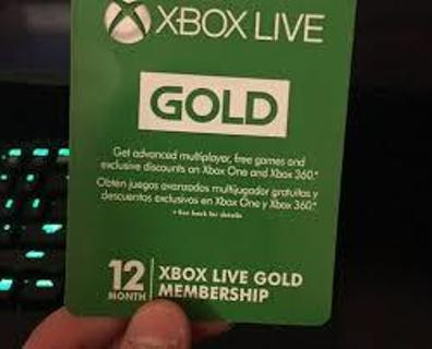12 Month Xbox Live Card