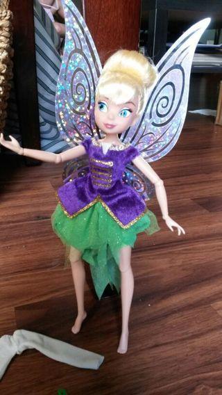 "10"" TINKERBELL doll barbie type"