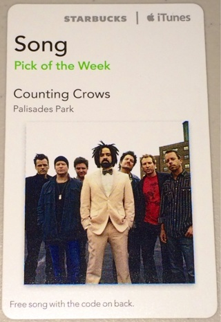 Free: Counting Crows : Palisades Park Song iTunes (Digital Download