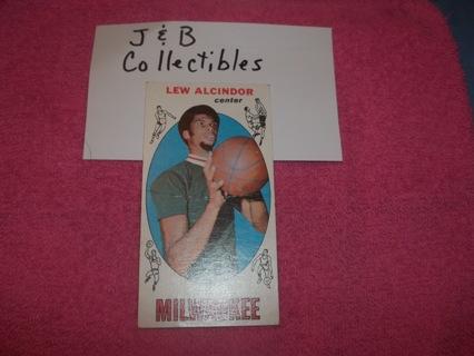 Free 1969 Lew Alcindor Basketball Rookie Card Kareem Abdul Jabbar