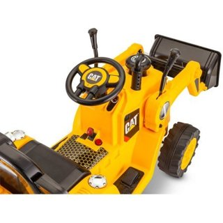 NEW! CAT Bulldozer/Tractor  6V Battery Powered Ride-On, Yellow! FREE SHIP!