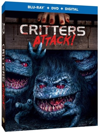 Critters Attack! (Digital HD Download Code Only) *Horror* *Halloween*
