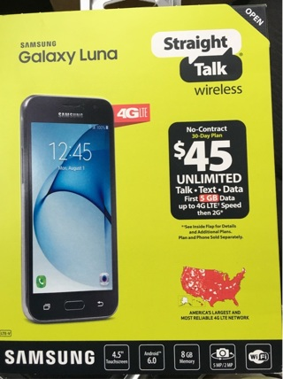 first rate 3cd80 4ee37 Free: Samsung Luna w/case & selfie stick ALL NEW - Phones - Listia ...