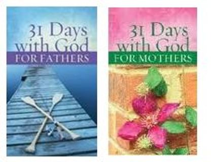 31 Days with God for Fathers and Mothers 2 Matching Devotional books