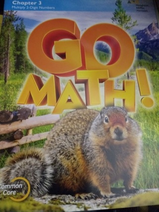 Go Math! Book, by Houghton Mifflin Harcourt