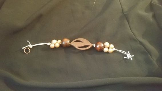 *Handmade* Brown Beaded Bracelet