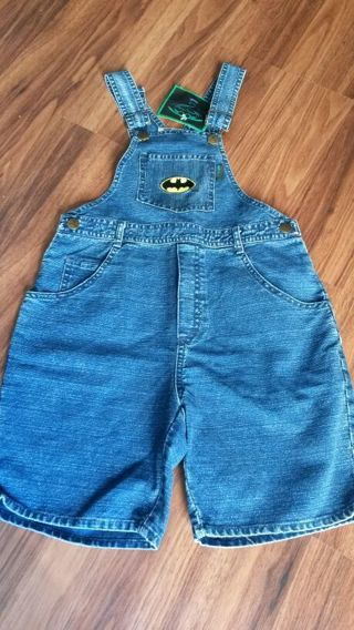 BATMAN kids overall size 10 - new with tags