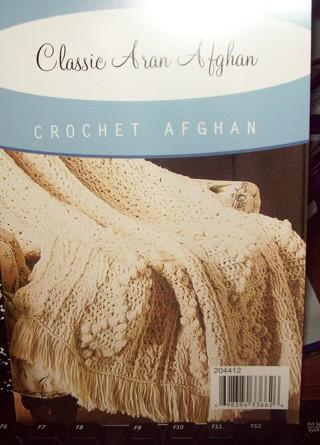 Free Classic Aran Afghan Crochet Pattern To Crochet Crochet